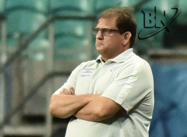 Técnico do Bahia exalta Vinícius e admite temor por denúncias ao TJD-BA