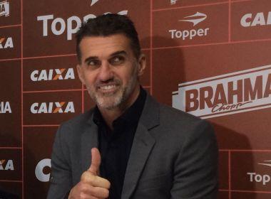 Mancini explica mudança de postura do Vitória e afirma: 'Nosso time é ofensivo'
