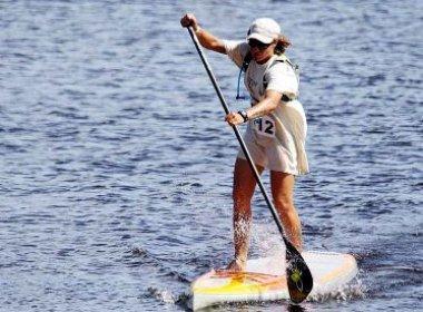 Stand-up paddle: Baiana bi-campeã brasileira ameaçada de não disputar brasileiro e mundial