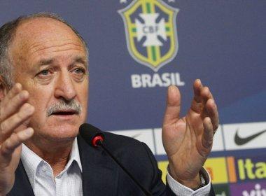 Felipão completa a lista de convocados da seleção brasileira nesta segunda-feira