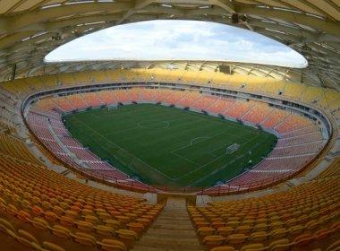 Arena Amazônia terá jogo de abertura no dia 9 de março
