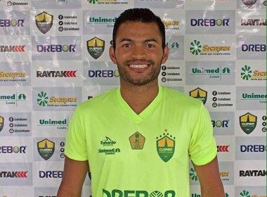 Ex-Vitória, volante Esdras assina contrato com Cuiabá
