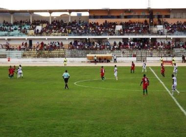 Em súmula, árbitro afirma que partida do Baianão foi disputada com medidas irregulares