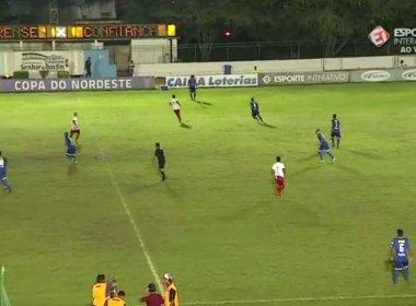 Em jogo morno, Juazeirense e Confiança ficam no empate na primeira rodada do Nordestão