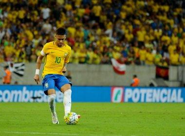 Neymar recebe terceiro amarelo e desfalca o Brasil contra o Paraguai