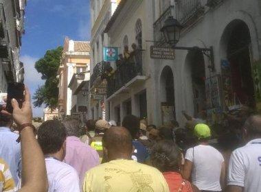 Revezamento da Tocha começa com confusão entre organizadores em Salvador