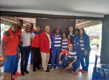 Seleção cubana de judô visita Bahia e faz preparação olímpica com atletas baianos