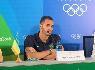 Olimpíada: Renato Augusto revela conversa com Neymar e aponta: 'Está confiante'