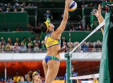 Rio 2016: Ágatha e Bárbara perdem para alemãs e ficam com a prata no vôlei de praia