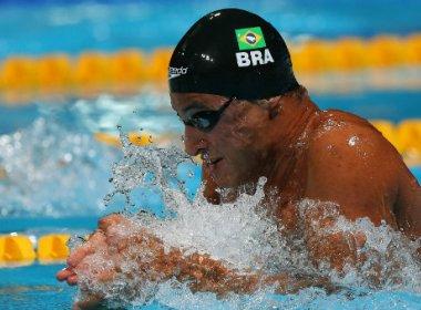 No peito, Felipe Lima conquista bronze na Copa do Mundo de natação