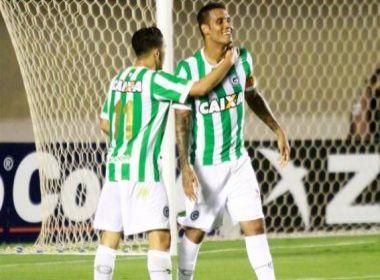 Técnico e meio-campista elogiam atuação do Goiás na goleada sobre o Paraná