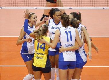 Rio De Janeiro vence primeira partida do Mundial de Clubes de Vôlei feminino