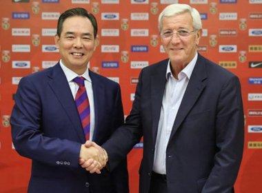 Campeão mundial, Marcelo Lippi é o novo técnico da seleção da China