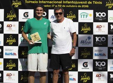 Após conquista da Bahia Juniors Cup, Thiago Wild celebra seu primeiro título pela ITF