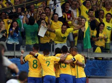 Com facilidade, Brasil bate Argentina e segue na liderança das Eliminatórias