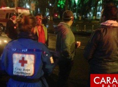 Avião com delegação da Chapecoense cai na Colômbia; feridos resgatados