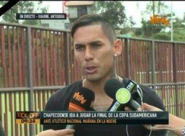 Atletas do Nacional querem que a Chapecoense seja declarada campeã da Sul-Americana