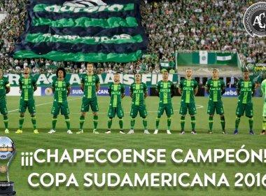 Conmebol reconhece Chapecoense como campeã da Copa Sul-Americana