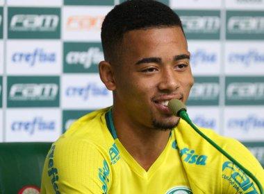Gabriel Jesus se despede do Palmeiras e não enfrenta o Vitória no Barradão