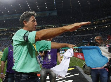 Após título da Copa do Brasil, Renato Gaúcho pede estátua na Arena do Grêmio