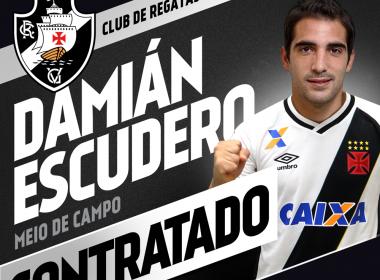 Vasco anuncia contratação do meia Escudero, ex-Vitória