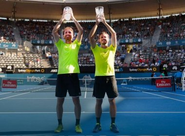 Murray e Soares perdem para holandeses na final do ATP de Sydney