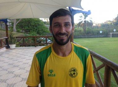 Atlântico: Ex-Bahia, Rogério Rios garante boa forma e se diz ansioso para estreia