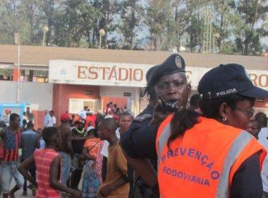 Tragédia em partida do Campeonato Angolano deixa ao menos 17 mortos e 60 feridos