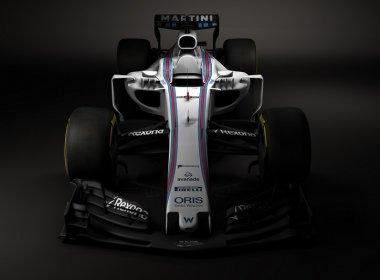 Em exibição-surpresa, Williams revela o novo carro para a temporada 2017