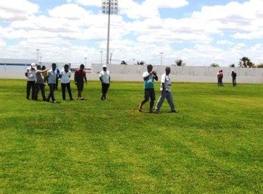FBF faz vistoria no estádio Eliel Martins e cogita retorno da praça para o Baianão