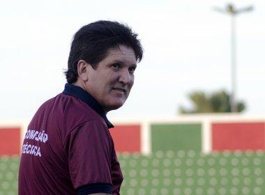 Apesar da goleada, Roberto Gaúcho vê boa partida do Atlântico contra o Conquista