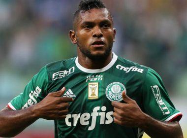 Borja celebra gol na estreia pelo Palmeiras: 'Espero fazer muito mais'