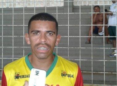 Atacante da Juazeirense pede 'espírito de luta' para duelo contra o Jacuipense