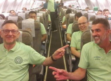 Chapecoense realiza primeira viagem internacional após trágico acidente