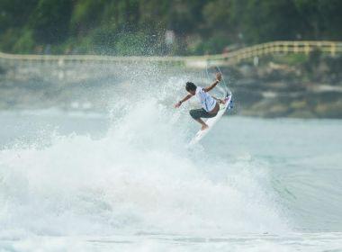 Surfe: Baiano Marco Fernandez fica em quinto no Australian Open of Surfing