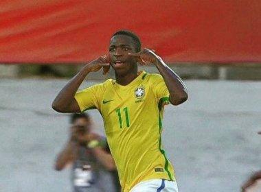 Jovem destaque, Vinícius Júnior reclama de especulações com Barcelona e Real Madrid