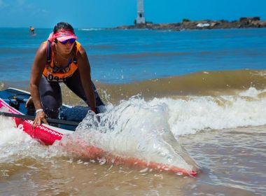 Campeonato baiano de stand up paddle promete reunir 200 atletas em Inema