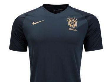 Site divulga fotos de nova camisa verde da seleção brasileira; veja fotos