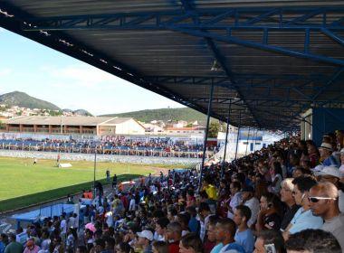No Baiano, Jacobina nunca perdeu no estádio José Rocha; em 4 anos, time teve 1 derrota