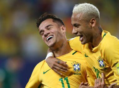 Neymar diz que gostaria de ver Coutinho no Barcelona: 'Contrataria'