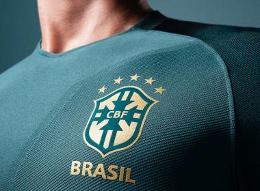 CBF lança o terceiro uniforme da seleção; kit é verde com detalhes dourados