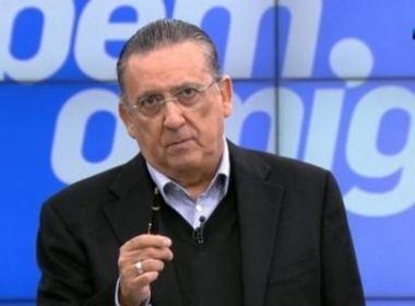 Galvão Bueno critica mudança de estatuto da CBF: 'Não me parece muito correto'