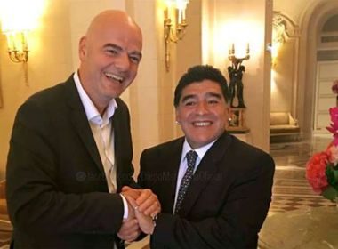 Maradona pedirá a Infantino para reduzir suspensão de Messi