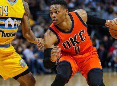 Russell Westbrook supera recorde de triplos-duplos em uma temporada da NBA