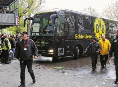 Explosão atinge ônibus do Borussia Dortmund antes de partida; zagueiro teria ficado ferido