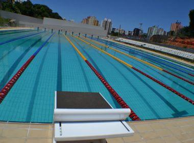Após 13 meses sem banheiros, piscina olímpica de Salvador pode ter obra concluída