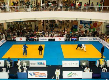 Federação Baiana de Judô organiza torneio em shopping de Salvador
