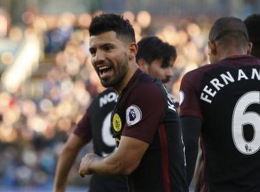Aguero admite que Gabriel Jesus é seu sucessor no Manchester City