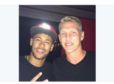 'Gostaria de vê-lo no uniforme do Bayern', diz Schweinsteiger sobre Neymar