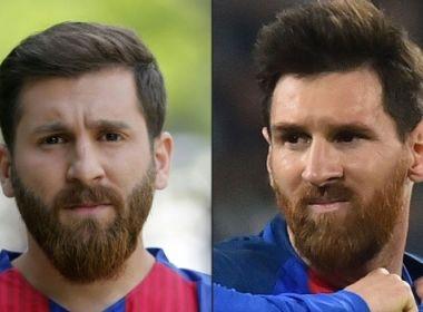 Messi do Irã é detido por parecer muito com o craque e causar tumulto no trânsito